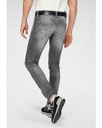 graue enge Jeans von Chasin'