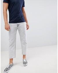 graue enge Jeans von Dr. Denim