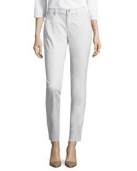 Graue Enge Jeans von Eileen Fisher