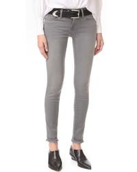 Graue Enge Jeans von Frame
