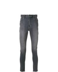 graue enge Jeans von Neuw