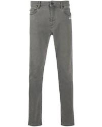 graue enge Jeans von Off-White