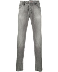 graue enge Jeans von Philipp Plein