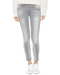 Graue Enge Jeans von Siwy
