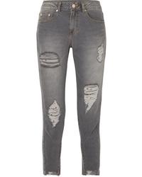 graue enge Jeans von Sjyp
