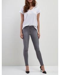 graue enge Jeans von Vila