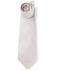 graue gepunktete Krawatte von Fendi