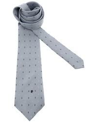 graue gepunktete Krawatte von Pierre Cardin
