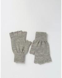 graue Handschuhe von Asos