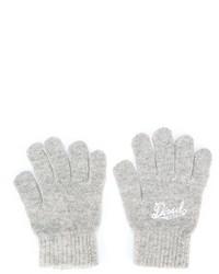 graue Handschuhe von Diesel