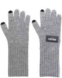 graue Handschuhe von Kenzo