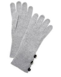 graue Handschuhe von Marc Jacobs