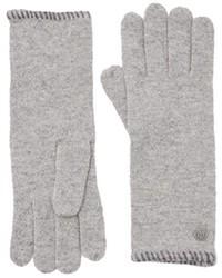 graue Handschuhe von Marc O'Polo