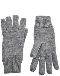 graue Handschuhe von Selected