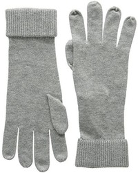 graue Handschuhe von Tommy Hilfiger