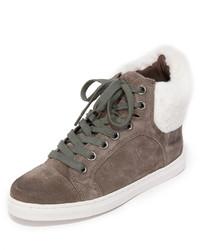graue hohe Sneakers aus Wildleder von Splendid