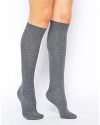 graue hohen Socken von Asos