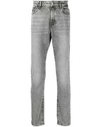 graue Jeans mit Acid-Waschung von Karl Lagerfeld