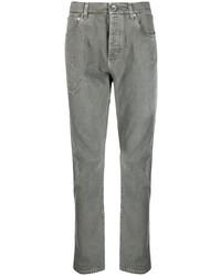 graue Jeans mit Destroyed-Effekten von Brunello Cucinelli