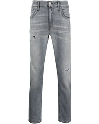graue Jeans mit Destroyed-Effekten von Department 5