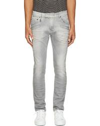 graue Jeans von Balmain