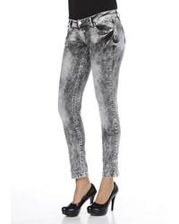 graue Jeans von CIPO & BAXX