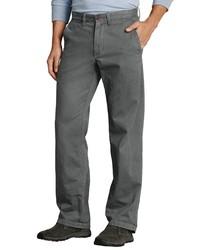 graue Jeans von Eddie Bauer