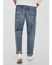 graue Jeans von S.OLIVER RED LABEL