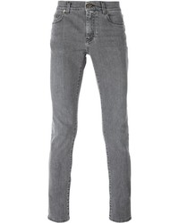 graue Jeans von Saint Laurent