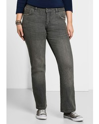 graue Jeans von SHEEGO DENIM