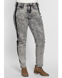graue Jeans von SHEEGO DENIM