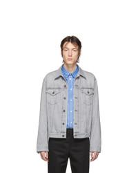 graue Jeansjacke von Acne Studios