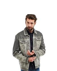 graue Jeansjacke von ENGBERS