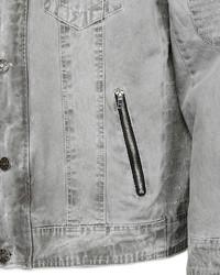 graue Jeansjacke von JCC Jacke mit Ziernähten »401450«