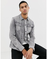 graue Jeansjacke von Tom Tailor