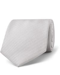 graue Krawatte von Brioni