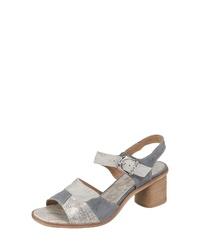 graue Leder Sandaletten von CHARME