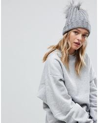 graue Mütze von Alice Hannah