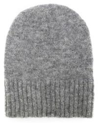 graue Mütze von AMI Alexandre Mattiussi