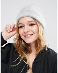 graue Mütze von Asos