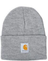 graue Mütze von Carhartt