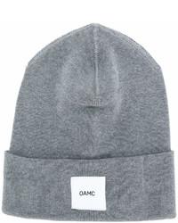 graue Mütze von Oamc