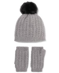 graue Mütze von Portolano