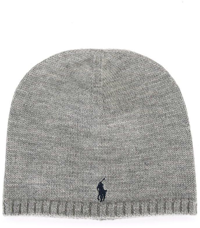 graue Mütze von Ralph Lauren