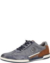 graue niedrige Sneakers von Bugatti