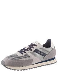 graue niedrige Sneakers von Gant Footwear