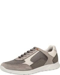 graue niedrige Sneakers von Geox
