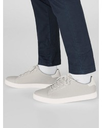 graue niedrige Sneakers von Jack & Jones
