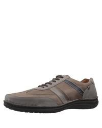graue niedrige Sneakers von Josef Seibel