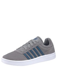 graue niedrige Sneakers von K-Swiss
